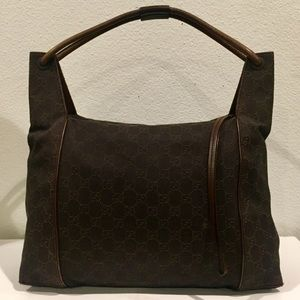 GUCCI GG Supreme Canvas Bag
